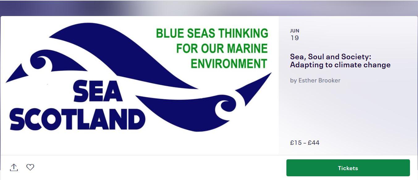 Sea Scotland 2019: Adapting to Climate Change