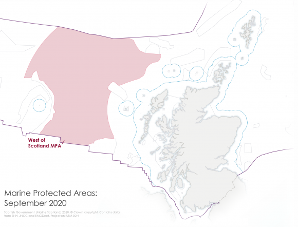 West of Scotland MPA, Marine Protected Areas